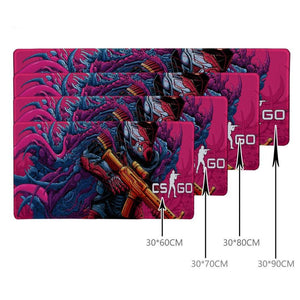CSGO Gaming mouse mat  CS: IR gun skins mouse pad - gameregion