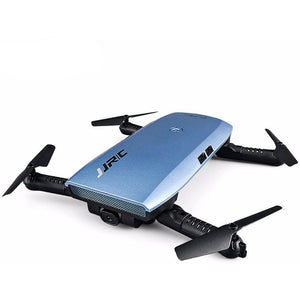 JJRC H47 ELFIE Drones Foldable RC Pocket Selfie Drone Dron With WiFi FPV 720P HD Camera G-Sensor Controller Helicopter Waypoints - gameregion