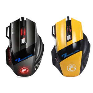 iMice X7 Wired Gaming Mouse Professional 7 Buttons LED Optical - gameregion