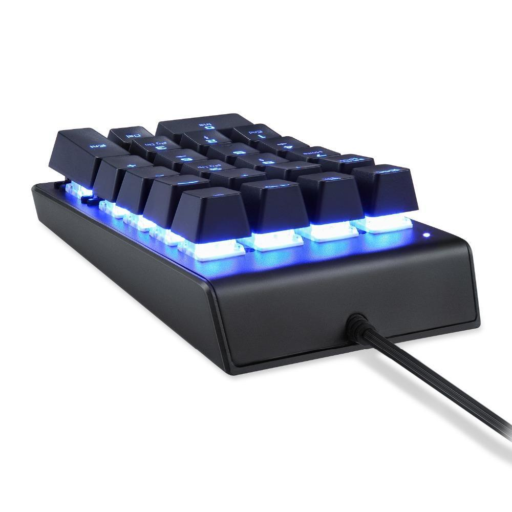 MOTOSPEED K22 Mechanical Gaming Keypad 22 Keys - gameregion