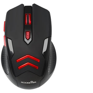 Rocketek Gaming Wireless Mouse 2.4 Ghz 1600DPI - gameregion