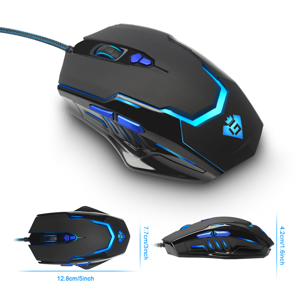 Rocketek Gaming Mouse 6 Buttons 3200DPI - gameregion
