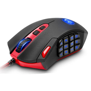 Redragon USB Gaming Mouse 16400 DPI 19 buttons programmable - gameregion