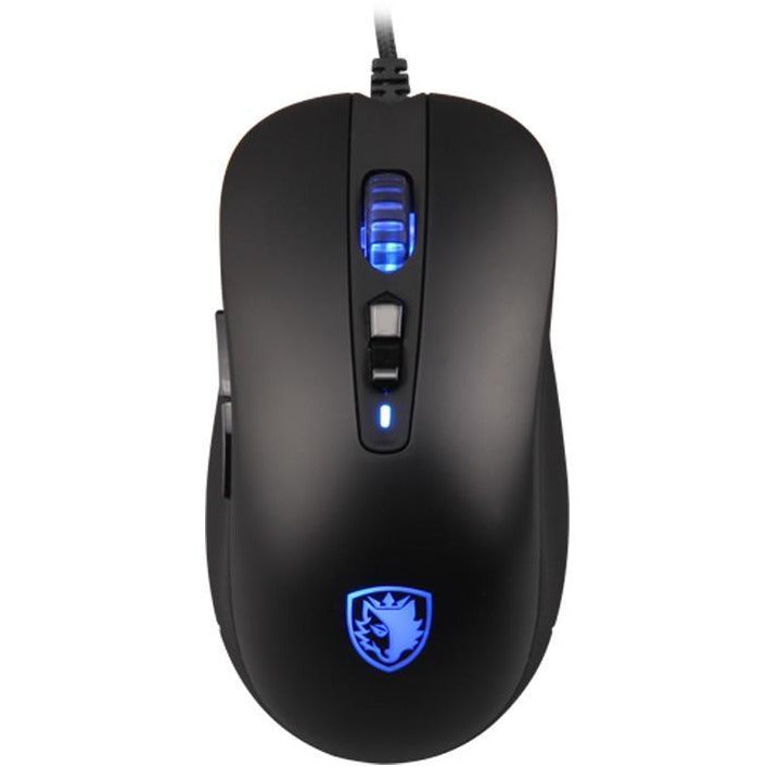 SADES S15 Musket 3000DPI Mouse  5 Buttons Multicolor Backlit Opto-electronic - gameregion