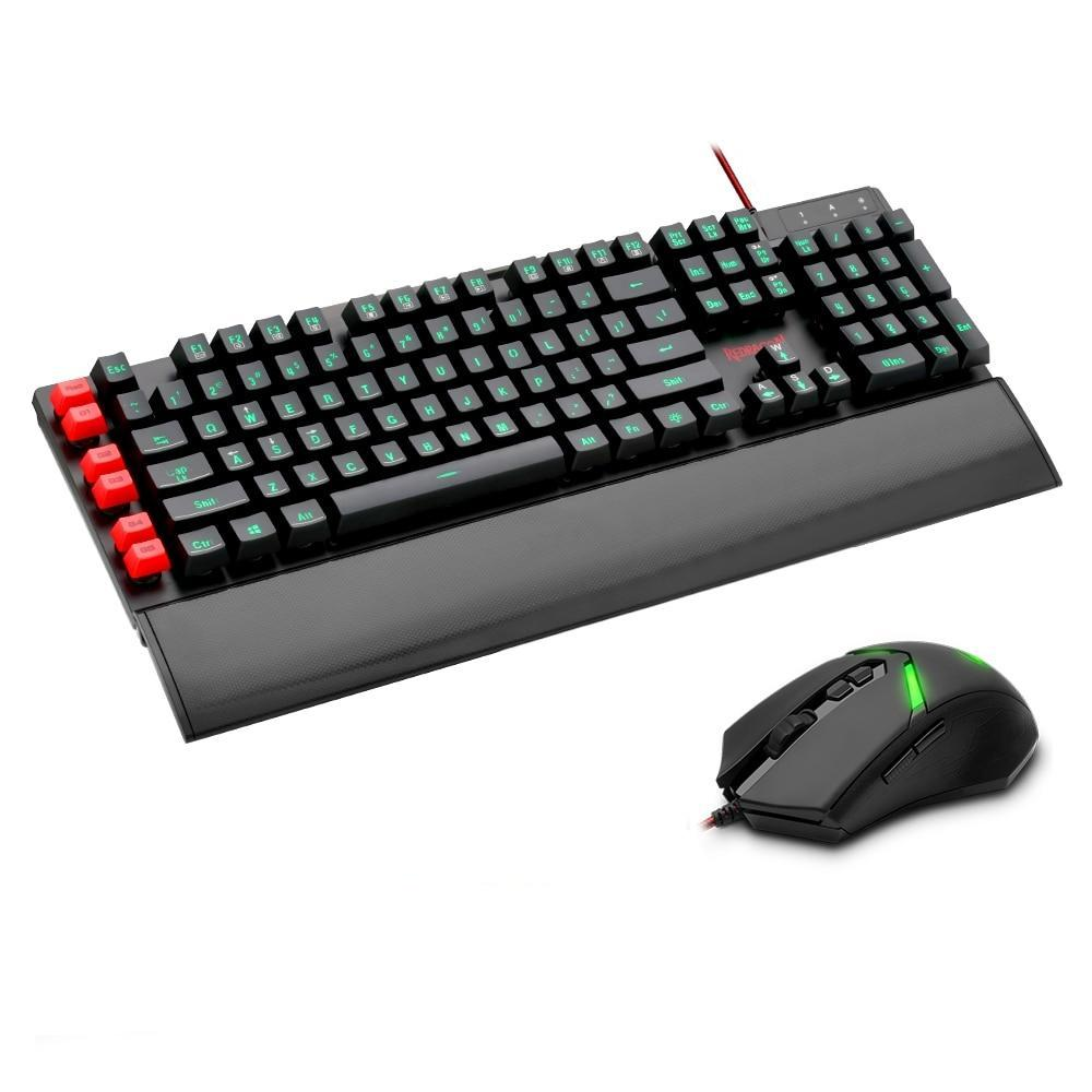 Redragon USB Gaming Membrane Keyboard mouse pad combos S102 - gameregion