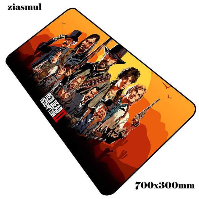 Red Dead Redemption 2 mouse pad  700x300x2mm - gameregion