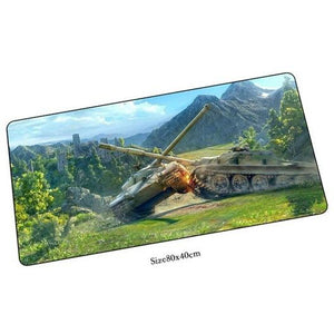World of tanks mouse pad 800x400x2mm - gameregion