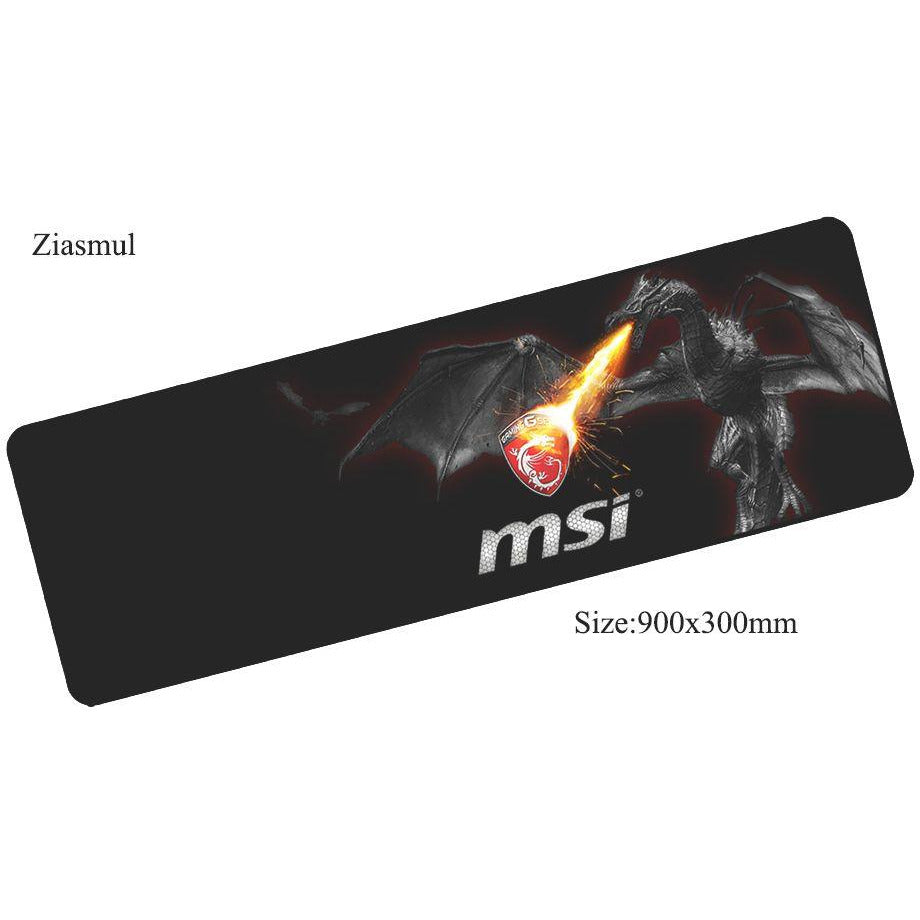 Ziasmul msi mouse pad 90x30mm - gameregion