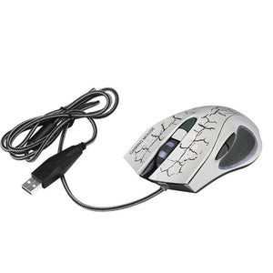 6 buttons 1200 / 1600 / 2400 / 3200/5500DPI  6D LED  Game Mouse - gameregion