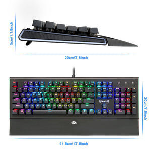 Redragon USB mechanical gaming keyboard K569 RGB - gameregion