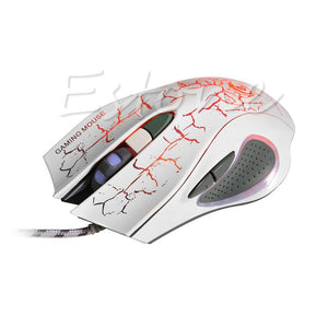 6D LED Optical USB2.0 Wired 1200/1600/2400/3200/5500 DPI  Gaming Mouse - gameregion