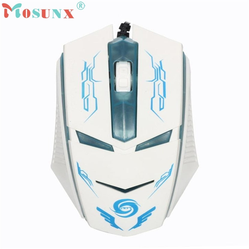 3200 DPI LED Optical USB Wired Gaming Mouse - gameregion