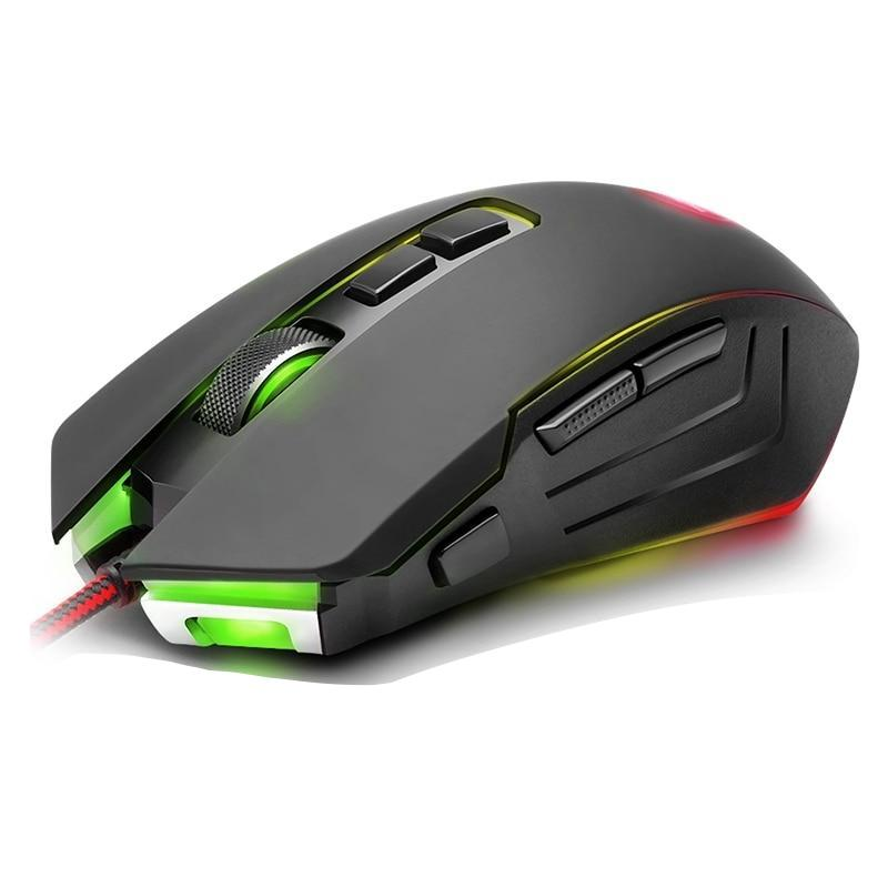 Redragon USB Gaming Mouse 10000DPI 9 buttons ergonomic programmable - gameregion