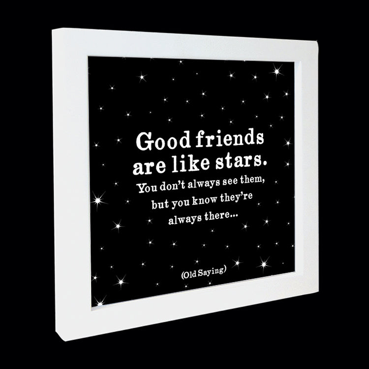 """good friends"" card"