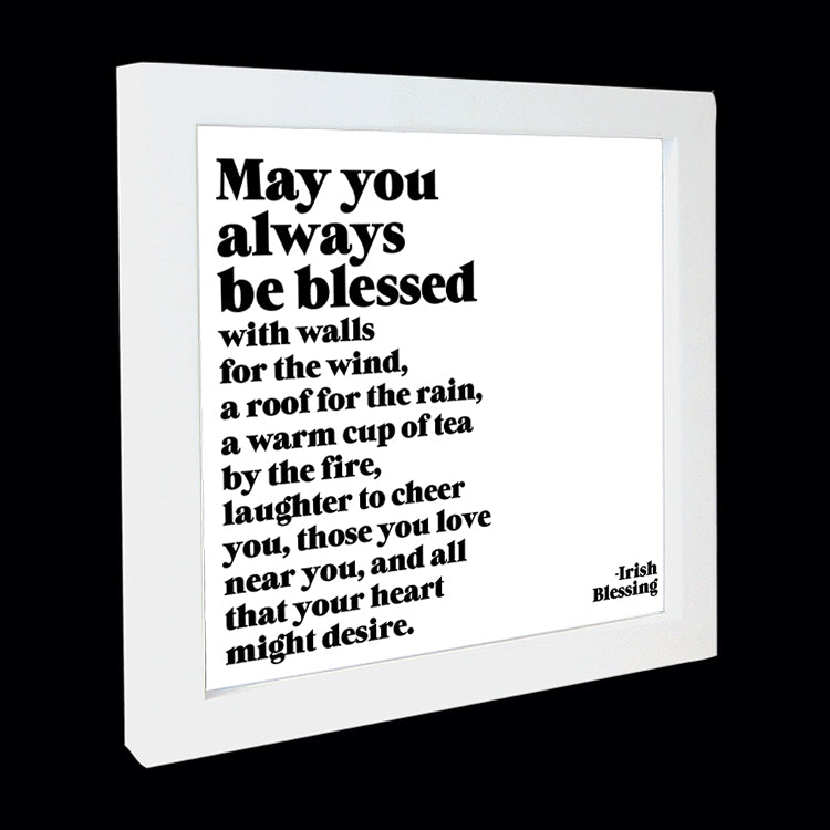 """may you always be blessed"" card"