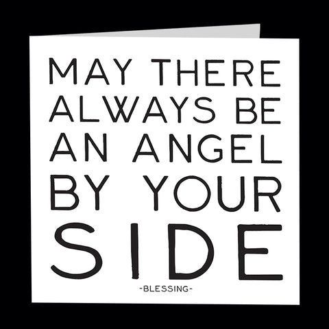 """angel by your side"" card"