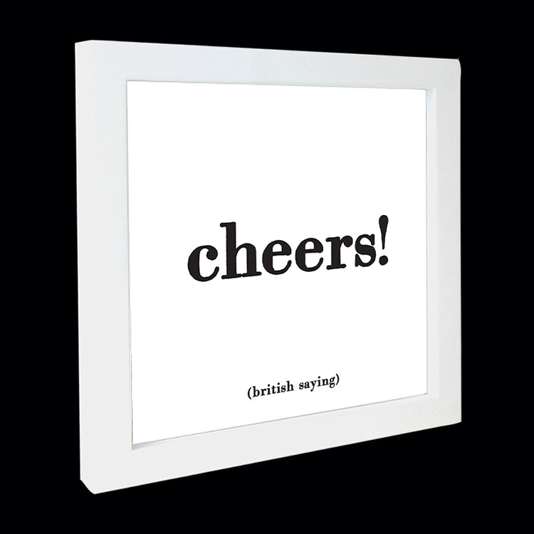 """cheers!"" card"