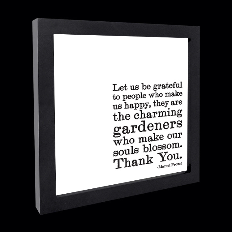 """let us be grateful"" card"