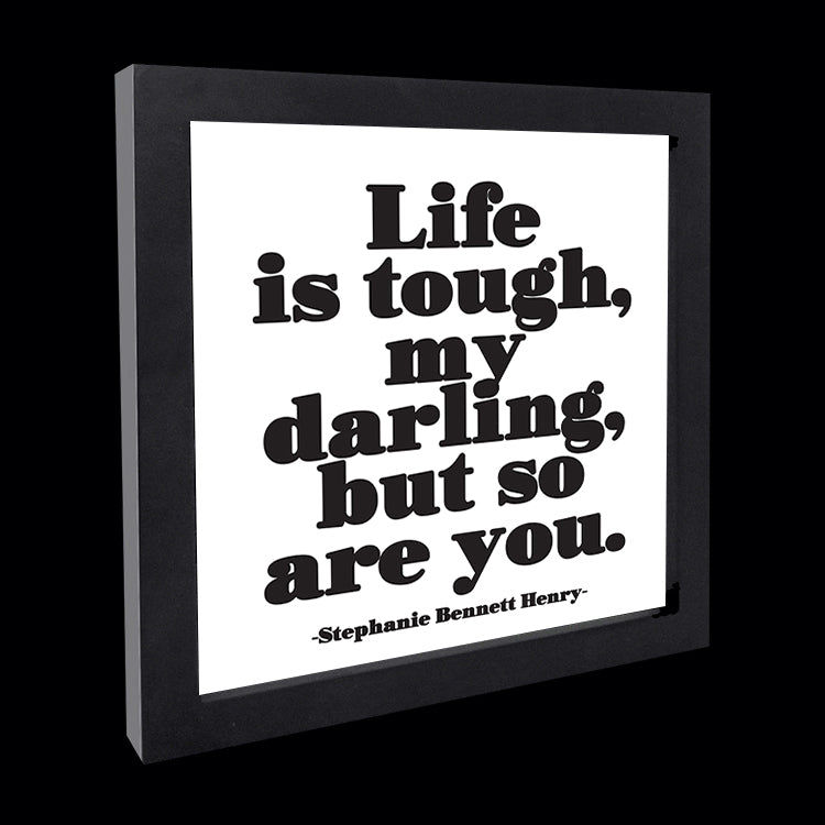 """life is tough"" card"