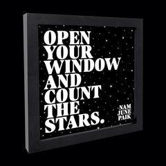"""open your window"" card"