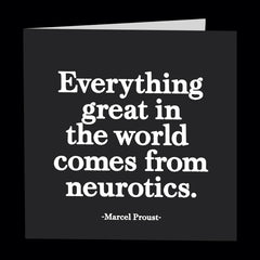 """neurotics"" card"