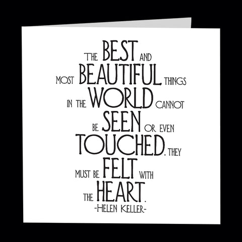 """most beautiful things"" card"