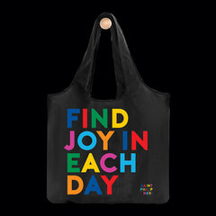 """find joy"" reusable bag"