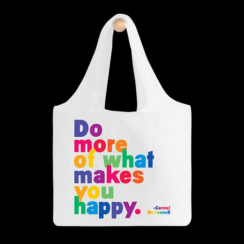 """do more"" reusable bag"
