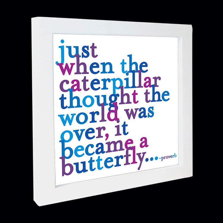 """caterpillar"" card"