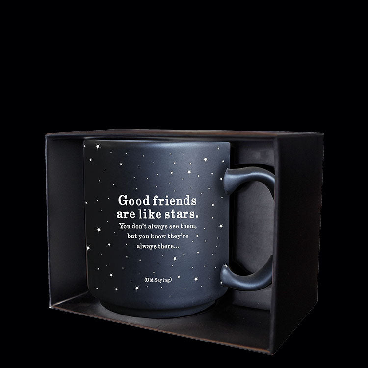 """good friends"" mini mug"