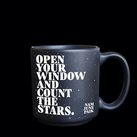 """open your window"" mini mug"