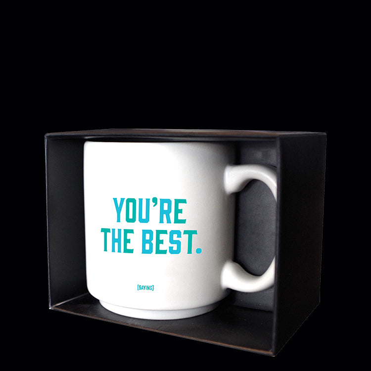 """you're the best"" mini mug"