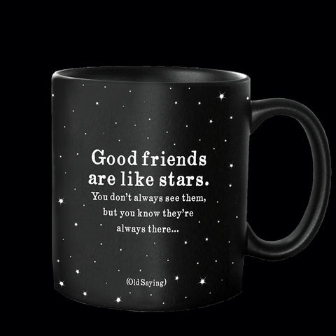 """good friends"" mug"