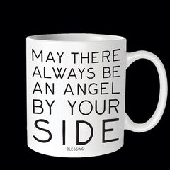 """angel by your side"" mug"