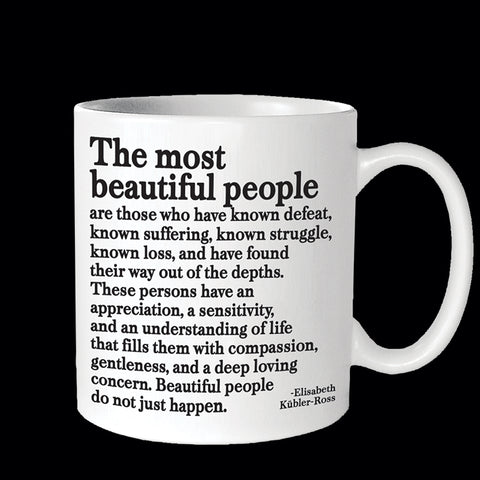 """the most beautiful people"" mug"