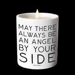 """angel by your side"" candle"