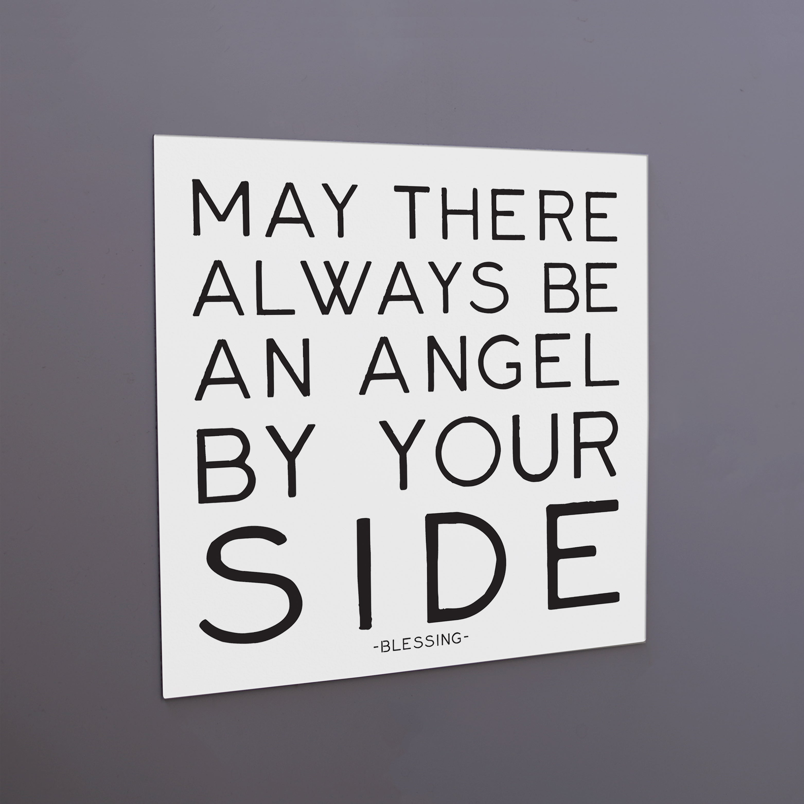 """angel by your side"" magnet"