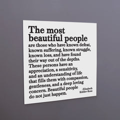 """the most beautiful people"" magnet"