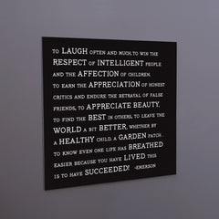 """to laugh often"" magnet"
