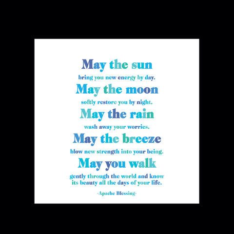 """may the sun"" magnet"