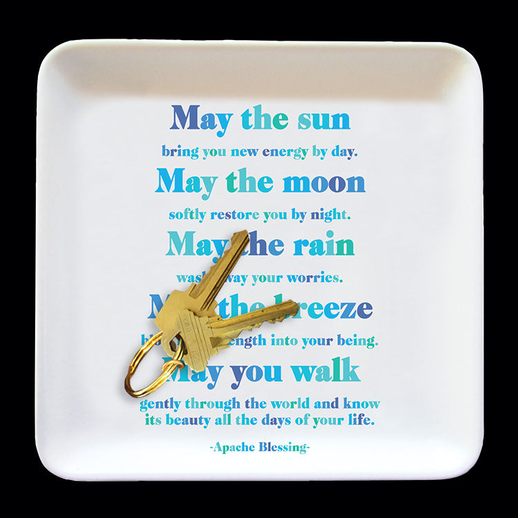 """may the sun"" trinket dish"