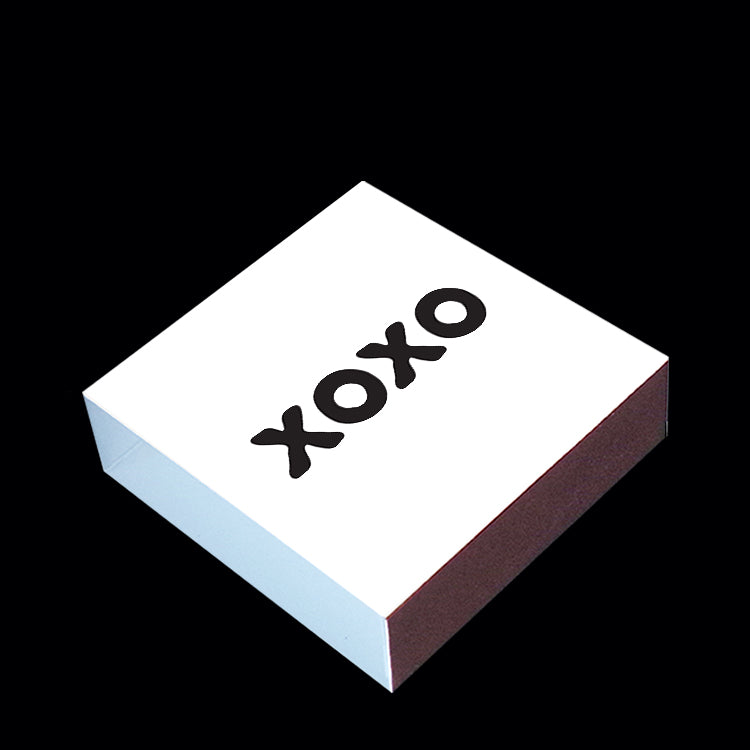 """xoxo"" matchbox"