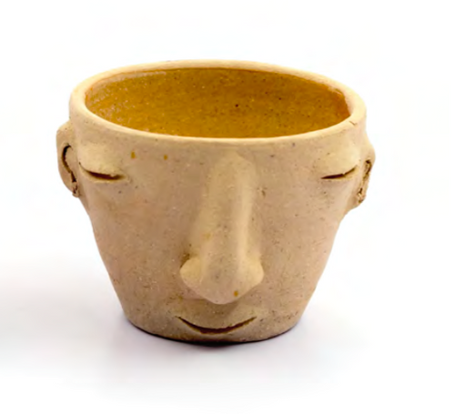 Agave face cup