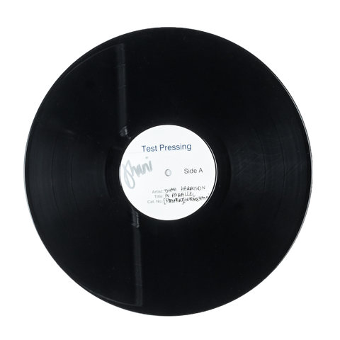 In Parallel Signed Test Pressing - Dhani Harrison