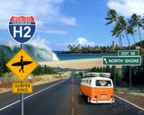 H2 Road to North Shore Photomontage