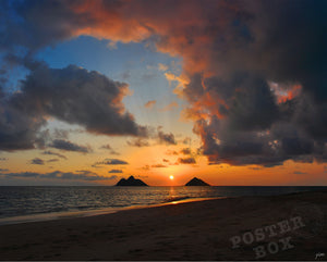 Sunrise at Lanikai, Mokulua Islands