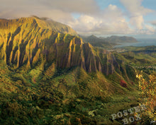 Koolau Mountain from Stairway to Heaven