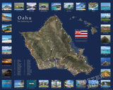 Map of Oahu (Point of Interest)