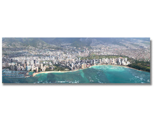 Waikiki Aerial View - Panoramic