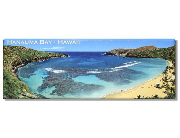 Hanauma Bay Panoramic Magnet